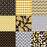Nahtlose Muster - Digital-Einklebebuch Stockfotos