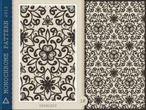 Nahtlose Muster-einfarbige 18 Stockfotografie