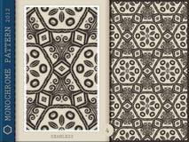 Nahtlose Muster-einfarbige 4 Stockfotografie