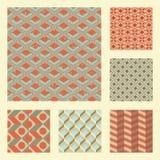 Nahtlose Muster eingestellt Stockbilder