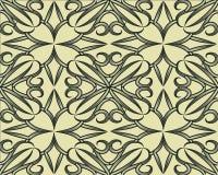 Nahtlose Muster eingestellt Geometrische Beschaffenheiten mit Effekt der optischen Täuschung vektor abbildung