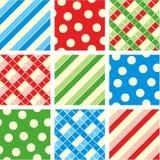 Nahtlose Muster (Hintergründe) Lizenzfreie Stockfotografie