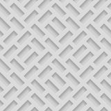 Nahtlose Muster mit abgeschrägten Formen Abstrakter Grayscale einfarbiger Pavetment-Hintergrund stockfotografie