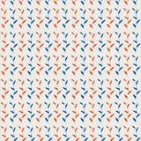 Nahtlose Muster mit Federblatt Lizenzfreie Stockbilder