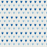Nahtlose Muster mit Federblatt Lizenzfreie Stockfotografie