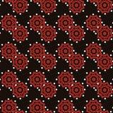Nahtlose Muster mit Gewebebeschaffenheit Stockbilder
