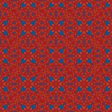 Nahtlose Muster mit Gewebebeschaffenheit Stockbild