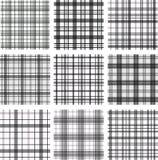 Nahtlose Muster set Lizenzfreie Stockbilder