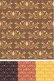 Nahtlose Muster-Tapete 01 Lizenzfreies Stockfoto