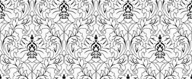 Nahtlose Muster-Verzierungs-Tapeten-Hintergrund-Wiederholung Stockfotos