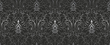 Nahtlose Muster-Verzierungs-Tapeten-Hintergrund-Wiederholung Lizenzfreies Stockbild