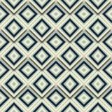 Nahtlose Muster-Zusammenfassungs-geometrisches Mosaik deckte Hintergrund Vektor mit Ziegeln Lizenzfreies Stockbild
