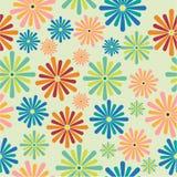 nahtlose Musterblumen, Lizenzfreies Stockfoto