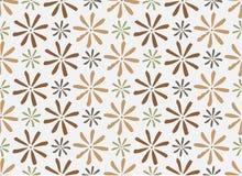 nahtlose Musterblumen, Stockbild