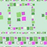 Nahtlose Musterschmutzwürfel Lizenzfreie Stockbilder