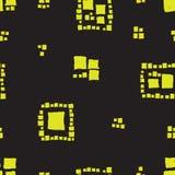 Nahtlose Musterschmutzwürfel Stockfotografie