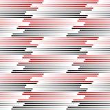 Nahtlose Plaid-Verzierung Abstrakte Linie Art Pattern Stockbild
