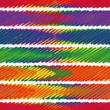 Nahtlose Probe - die Zusammenfassung schattierte mehrfarbige Streifen vektor abbildung