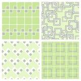 Nahtlose quadratische Tapete Stockfoto