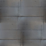 Nahtlose Rückseite des schwarzen Metallschweißensnahtmusterschmutzbraun-Rosts Stockbild