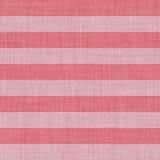 Nahtlose rote und weiße gestreifte Beschaffenheit Stockfotografie