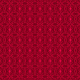 Nahtlose rote Verzierung Lizenzfreies Stockbild