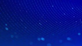 Nahtlose Schleife von Blinklichtern stock abbildung