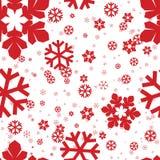 Nahtlose Schneeflocken Lizenzfreies Stockfoto