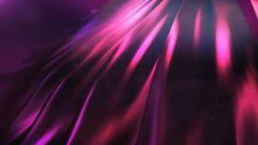 Nahtlose silk Wand waggles mit Licht an stock video