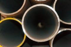 Nahtlose Stahlrohre für Öl- und Gasindustrie Lizenzfreies Stockbild