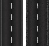 Nahtlose Straße der Beschaffenheit zwei Stockbilder