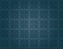 Nahtlose Tapete der eleganten blauen Weinlese Lizenzfreie Stockfotografie
