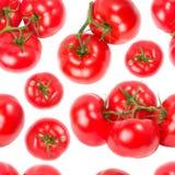 Nahtlose Tapete der Tomaten Stockfotografie