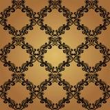 Nahtlose Tapete des Muster-Background.Damask. Lizenzfreie Stockfotos