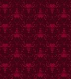 Nahtlose Tapete - Innere Stockbild