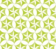 Nahtlose Tapete mit grünen Blumen Lizenzfreie Stockbilder