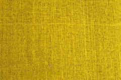 Nahtlose Tileable-Beschaffenheit der gelben Gewebe-Oberfläche Lizenzfreie Stockfotografie