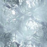 Nahtlose tileable Eisbeschaffenheit Gefrorenes Wasser Lizenzfreie Stockbilder