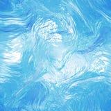 Nahtlose tileable Wasserbeschaffenheit Auszug Lizenzfreie Stockfotos