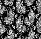 Nahtlose traditionelle asiatische Elemente Paisley Stockfotos