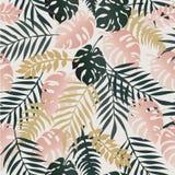 Nahtlose tropische Illustration Lizenzfreies Stockbild