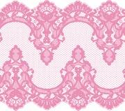 Nahtlose Vektor-Rosa-Spitze lizenzfreie abbildung