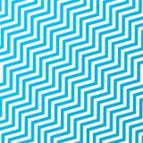 Nahtlose verschachtelnde diagonale Blau-und weißezickzack-Streifen masern Hintergrund vektor abbildung