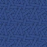 Nahtlose verwebende Linien Natur-Muster-Vektor Lizenzfreies Stockfoto
