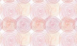 Nahtlose Verzierung mit Spirale Lizenzfreie Stockbilder
