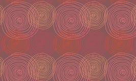 Nahtlose Verzierung mit Spirale Lizenzfreies Stockfoto
