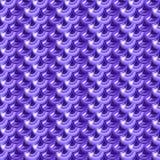 Nahtlose violette Flussfischschuppen Stockbild