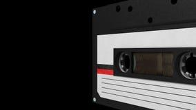 Nahtlose VJ-Schleife - Retro- Kassette stock video