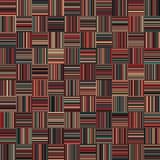 Nahtlose Weihnachtsfarbgerade vertikale und horizontale variable Breiten-Streifen Lizenzfreie Stockfotografie