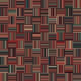 Nahtlose Weihnachtsfarbgerade vertikale und horizontale variable Breiten-Streifen Stockfotos